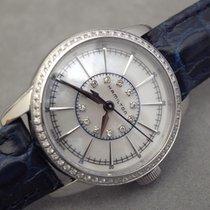 Hamilton AMERICAN CLASSIC RAILROAD LADY QUARTZ Pearl Diamonds...