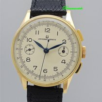 Universal Genève Vintage Chronograph 18k Gold