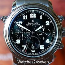 Blancpain LeMan Flyback Split Second Automatic Date on Bracelet
