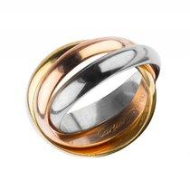 Cartier Ring Trinity 18kt Gelbgold Weißgold Roségold Gr.56...
