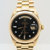 Rolex Day-Date 18k Yellow Gold  Factory Diamond Dial