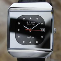 Rado Diastar Unique Swiss Quartz Stainless Steel Men's...