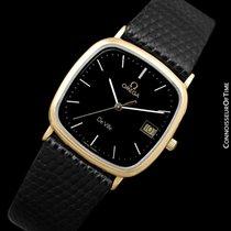 Omega 1980's De Ville Mens Vintage Midsize Ultra Thin...