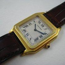 Cartier 18K SANTOS DUMONT GENTS THIN MODEL 1990'S
