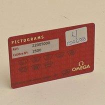 Omega Seamaster Pictograms