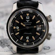 Wittnauer Ref 8007 Super Compressor Diver Vintage Watch