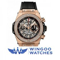 Hublot - Big Bang Unico King Gold Diamonds Ref. 411.OX.1180.RX...