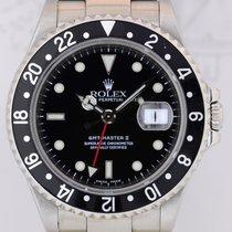 Rolex GMT Master II black 16710 2002/2003 TOP Klassiker SEL