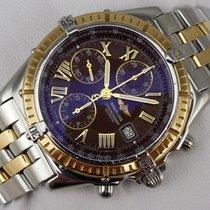 Breitling Crosswind Chronograph - Stahl-Gold - Goldlünette - 1998