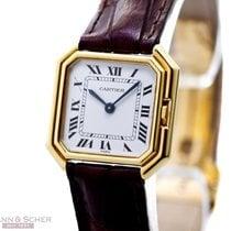 Cartier Vintage Paris Ceinture Manuel Winding 18k Yellow Gold...