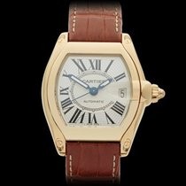 Cartier Roadster 18k Yellow Gold Gents 2524 or W62005V2 - W3972