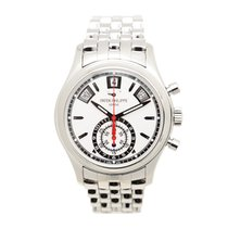 Patek Philippe Complications Stainless Steel Silvery White...