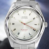 Guess Waterpro Beautiful Mens Stainless Steel 40mm Quartz...