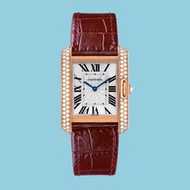 Cartier TANK ANGLAISE 34 Rotgold -NEU- incl. VAT Export possible