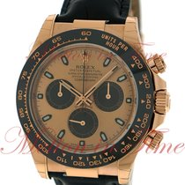 Rolex Cosmograph Daytona, Champagne Dial, Black Cerachrom...