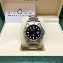 Rolex 216570BK Explorer II Black Dial 42mm