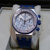 Audemars Piguet Ladies Royal Oak Offshore White Gold