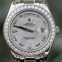 Rolex Mens Masterpiece Platinum Diamond Meteorite Dial &...