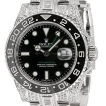 Rolex GMT-Master II Steel Diamond Set 116710LN