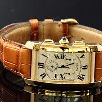 Cartier Tank Americain Chronograph 750/000 Gg