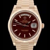 Rolex Day-Date 40 - Referenz 228235 - Everose-Gold - Box &...