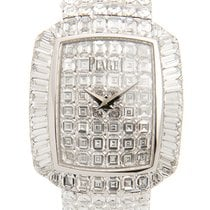Piaget Limelight 18k White Gold With Diamond Silver Quartz...
