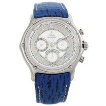 Ebel Le Modulor Automatic Chronograph Blue Strap Watch 9137241...
