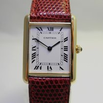 Cartier Tank 750er Gold GM Revisioniert