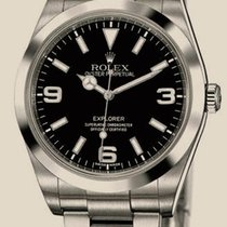Rolex Explorer Steel 39 mm