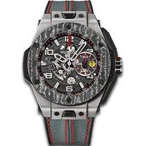 Hublot Big Bang Ferrari Carbon 401.NJ.0123.VR Titanium Watch
