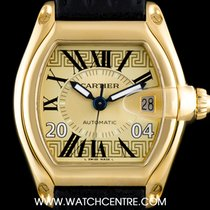 Cartier 18k Yellow Gold Greece Limited Edition Roadster Gents...