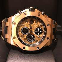 Audemars Piguet Royal Oak Offshore Chronograph Rose Gold B&P