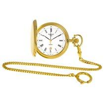 天梭 (Tissot) Savonnette White Dial Pocket Watch T83.4.553.13