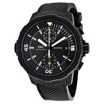 IWC IW379502 Aquatimer Galapagos Islands Chronograph Men Black...