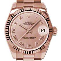 Rolex Unworn 178275-PCHRFP Datejust 31mm in Rose Gold Fluted...