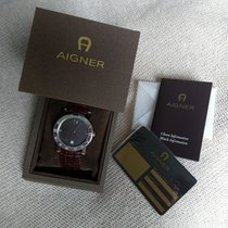Aigner Cortina Swiss made ladies watch original leather band...