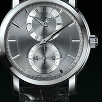 Paul Picot FIRSHIRE  RONDE   cash stell dial grey strap skin...