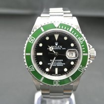 Rolex Submariner Date 16610LV Box Komplet Revision(Europe...