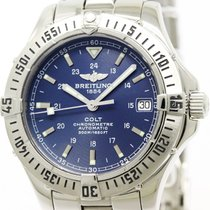 Breitling Polished Breitling Colt Automatic Steel Mens Watch...