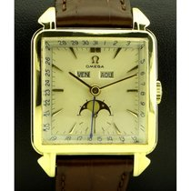 Omega   Vintage Cosmic Triple Calendar, 18kt Yellow Gold, From...