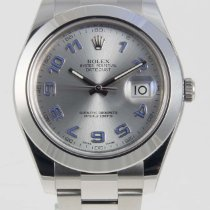 Rolex Datejust II Stainless Steel 41mm Rhodium Arabic