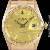 Rolex 1503 Oyster Perpetual Date 18k Rose