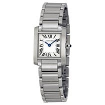 Cartier Ladies W51008Q3 Tank Francaise Steel Watch