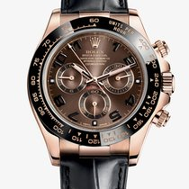 Rolex Cosmograph Daytona Rose Gold Chocolate Dial 116515LN