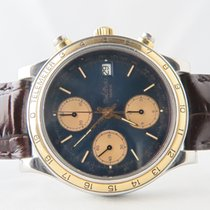 Paul Picot Telemeter Chronograph 18k Gold Steel