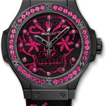 Hublot Big Bang Broderie Sugar Skull Hot Pink
