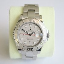 Rolex Oyster Perpetual Yacht-Master Rolesium Platinum Midsize...