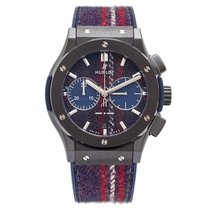 Hublot Chronograph Italia Independent Tartan Ceramic