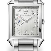 Girard Perregaux VINTAGE DATE AND SMALL SECONDS Steel Bracelet...