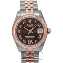 Rolex Datejust Lady 31 Chrocolate Steel/18k Rose Gold Dia 31mm...